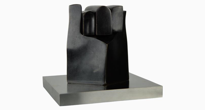 escultura lohengrin galeria arte madrid
