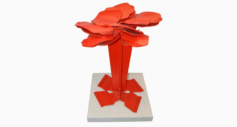 escultura arbol aleseide gallery madrid