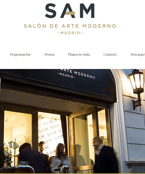 sam salon de arte moderno madrid